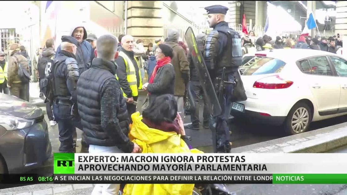 Francia: Tensión y protestas por la reforma pensional aprobada por decreto