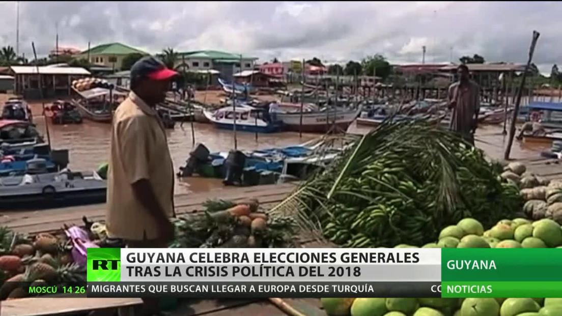 Guyana vive una jornada de elecciones generales tras la crisis política del 2018