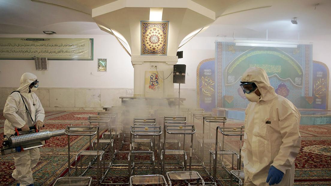 Irán despliega unidades militares en las provincias del país afectadas por el coronavirus