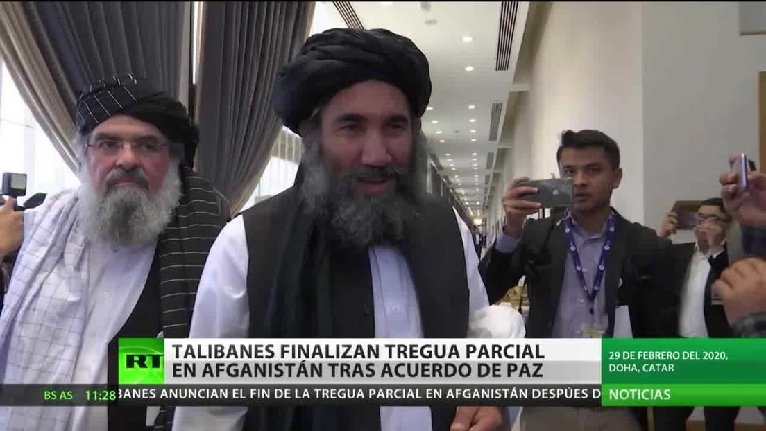 Afganistán: Los talibanes ponen fin a la tregua parcial dos días después de firmar el acuerdo de paz con EE.UU.