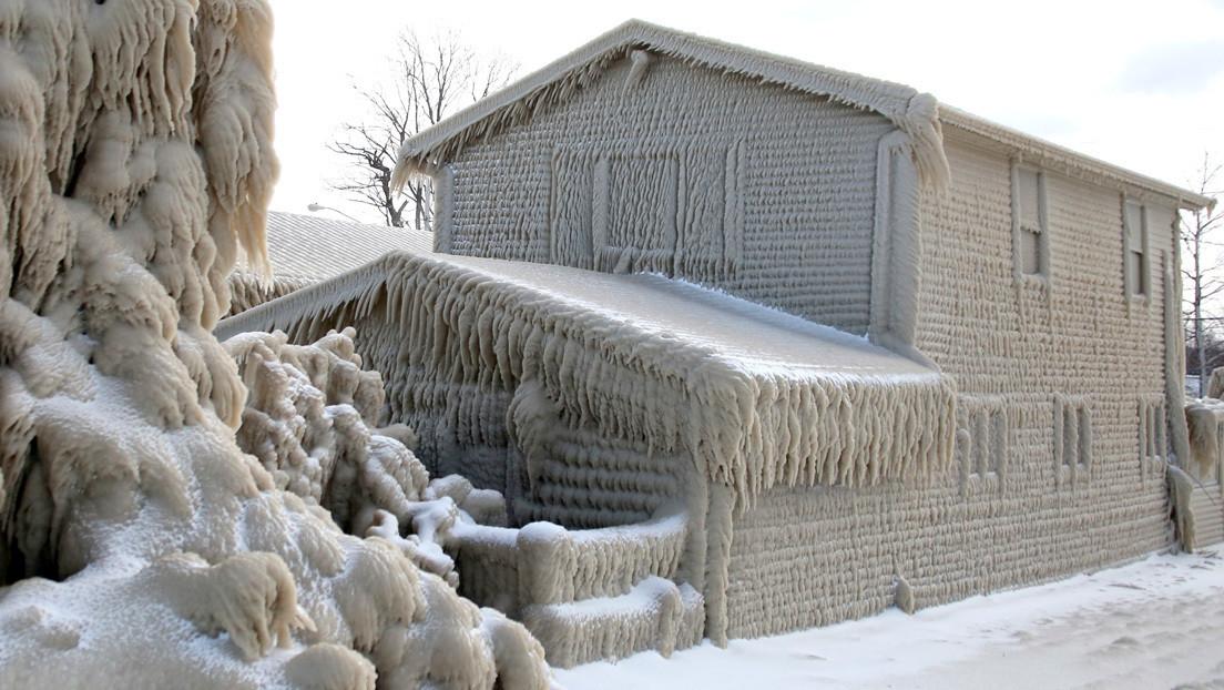 Ciudad congelada al norte de Nueva York parece sacada de un cuento (+ Fotos)