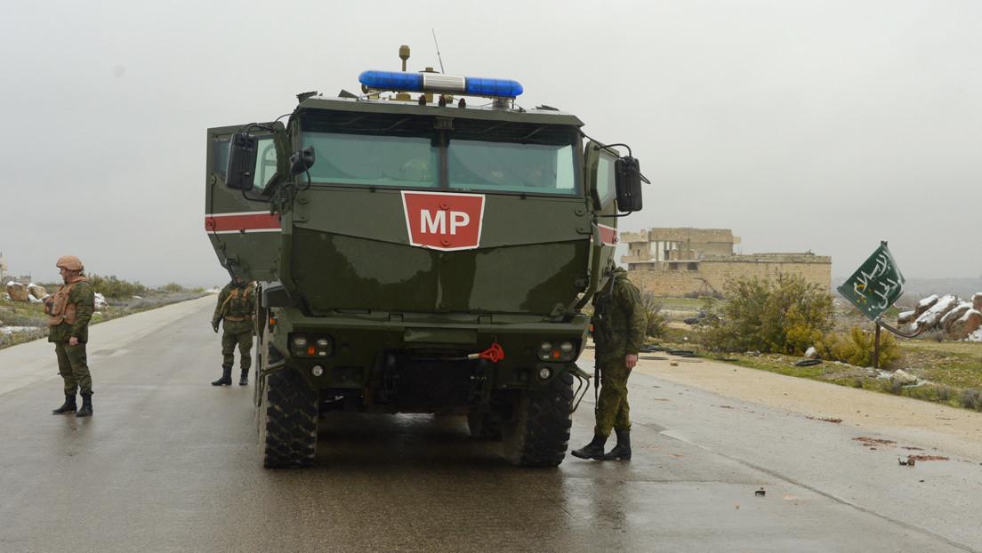 Rusia despliega a su Policía Militar en una ciudad estratégica próxima a Idlib