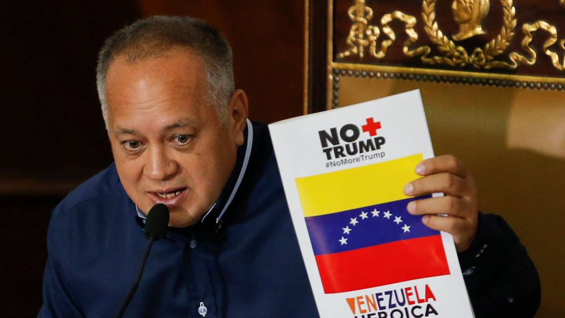 """Cabello acusa a Guaidó de crear """"falsos positivos"""" para provocar más sanciones contra Venezuela"""