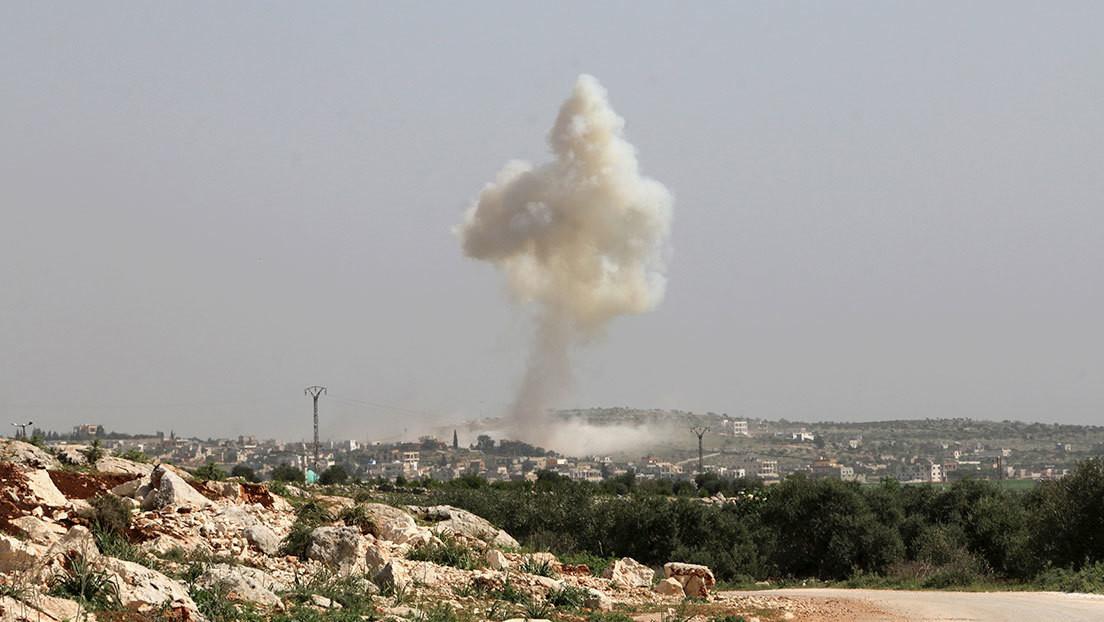 Turquía derriba un avión militar sirio en la provincia de Idlib