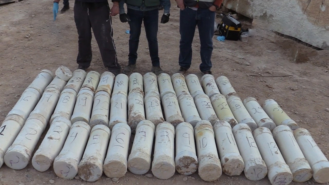 VIDEO: Desarticulan en España una organización criminal que introducía metanfetamina en bloques de mármol desde México