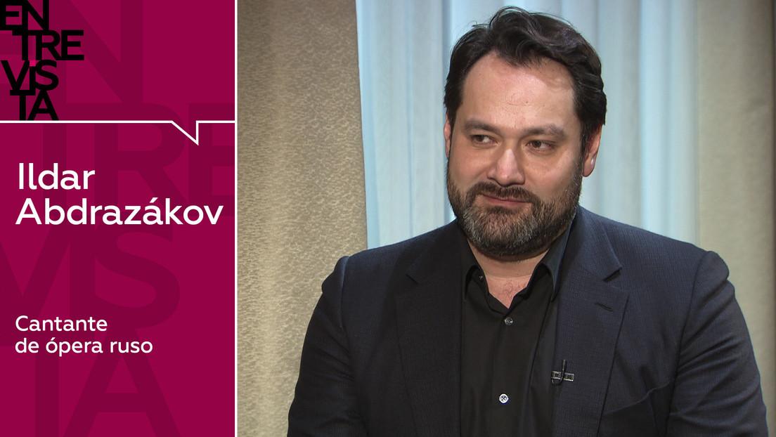 """Ildar Abdrazákov, cantante de ópera ruso: """"La ópera no puede ser un arte para todos"""""""