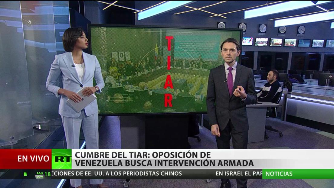 Cumbre del TIAR: la oposición de Venezuela busca una intervención armada en el país