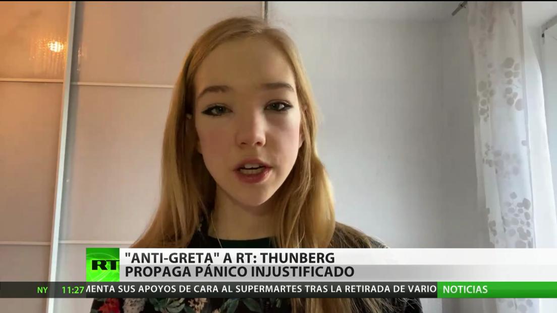 """'AntiGreta' a RT: """"Ella no tiene nada que ver con la ciencia, lo que hace es propagar pánico"""""""