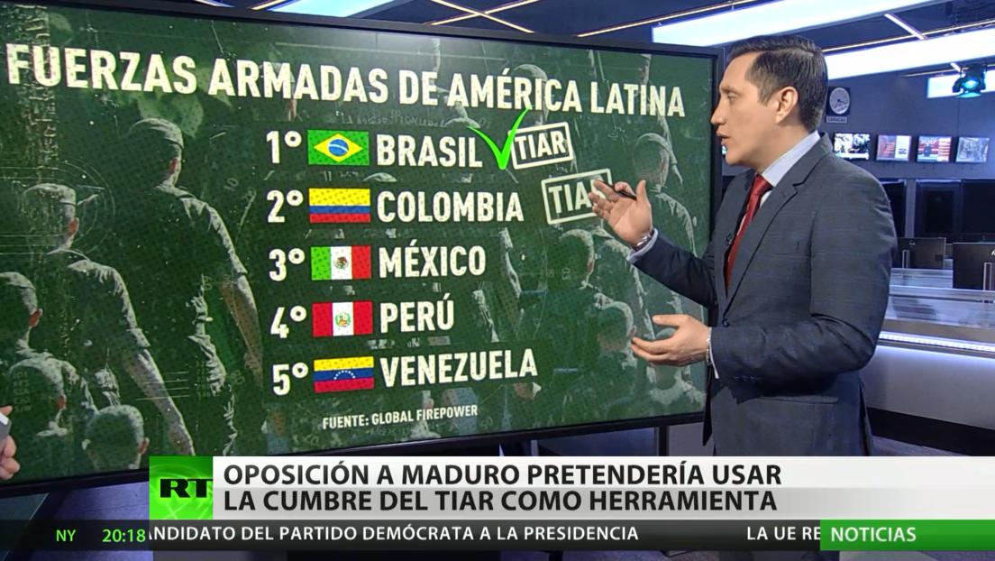 Sectores de la oposición venezolana buscarían usar la cumbre del TIAR para derrocar a Maduro