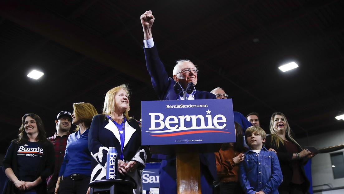 Bernie Sanders obtiene el respaldo de California en el supermartes del Partido Demócrata