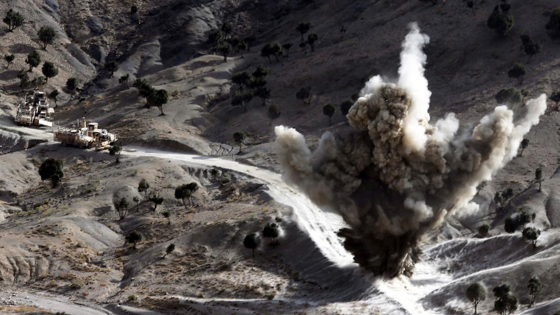 EE.UU. lanza un ataque aéreo contra talibanes en Afganistán tras firmar un acuerdo para poner fin a 18 años de guerra