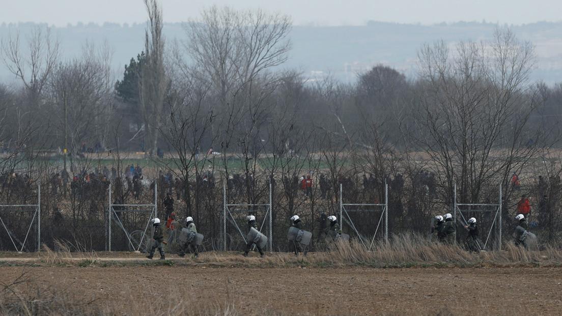 Turquía afirma que un migrante falleció por disparos griegos en su frontera