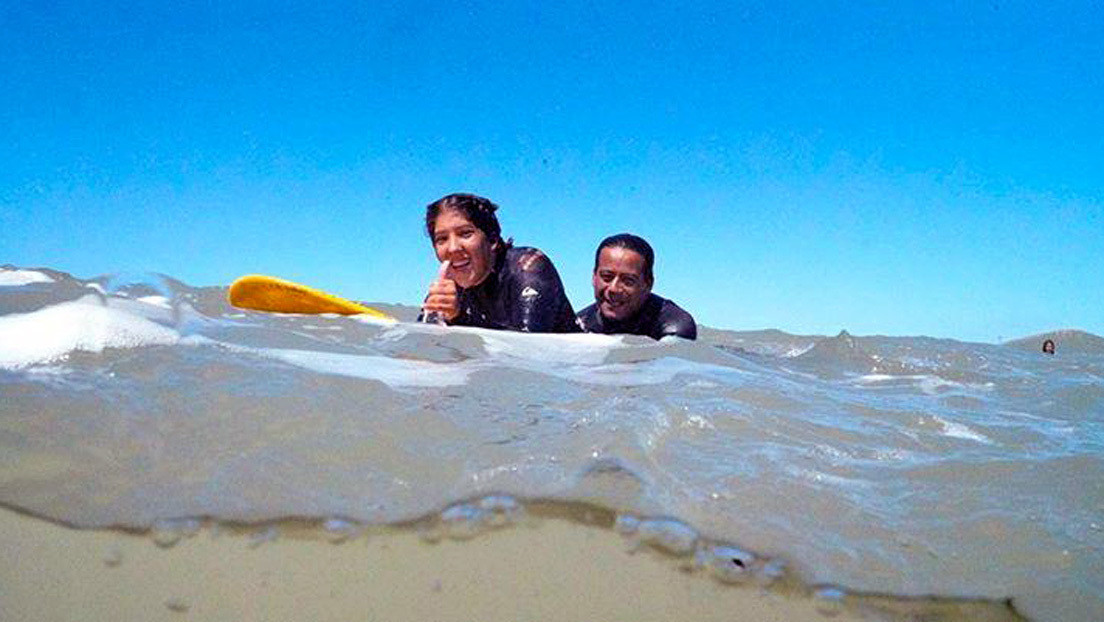 """Si tenés un sueño, salí a buscarlo"": La argentina Georgina Melatini narra los desafíos que afrontó para ser campeona latinoamericana de surf adaptado"