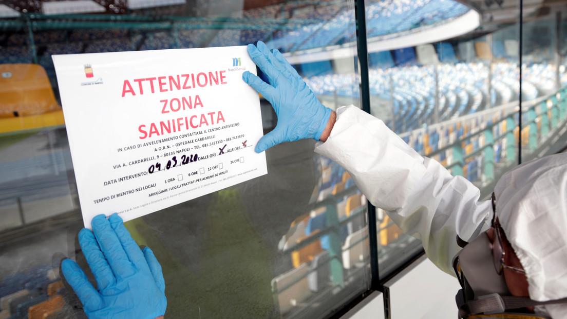 Italia considera el cierre de todas las escuelas y universidades del país por la epidemia de coronavirus