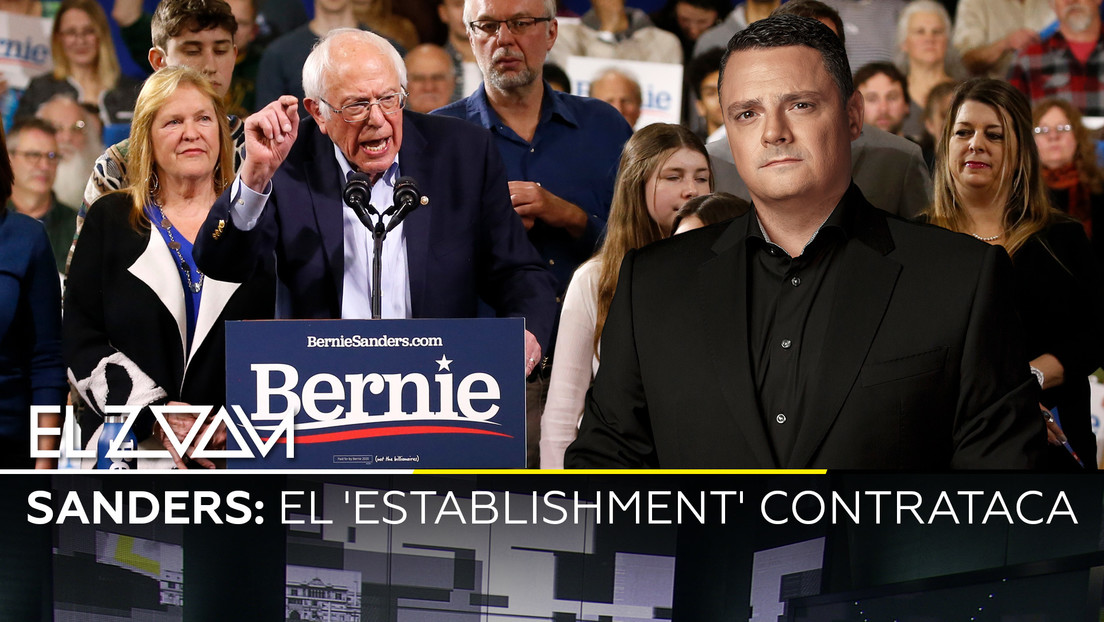 Sanders: El 'establishment' contrataca