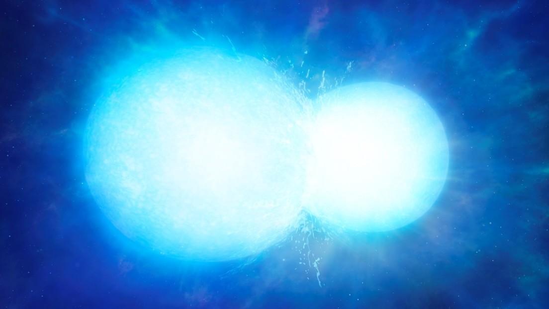 Descubren una rara estrella enana blanca que es probable fruto de la fusión de otra dos
