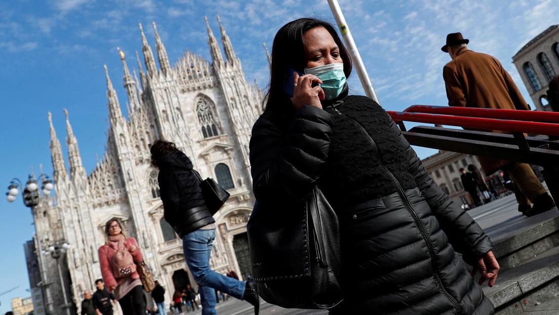 Italia confirma más de 100 muertes por el coronavirus