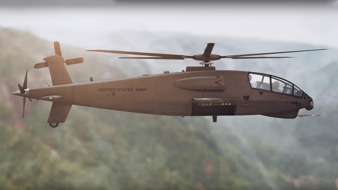 VIDEO: Boeing presenta su candidato para reemplazar al helicóptero de ataque AH-64 Apache