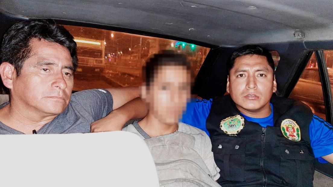Capturan al adolescente sospechoso de secuestrar y matar a una niña de 4 años en Lima