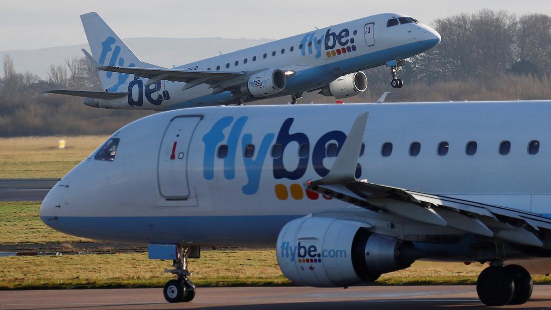 La aerolínea británica Flybe se declara en quiebra bajo la presión añadida del coronavirus