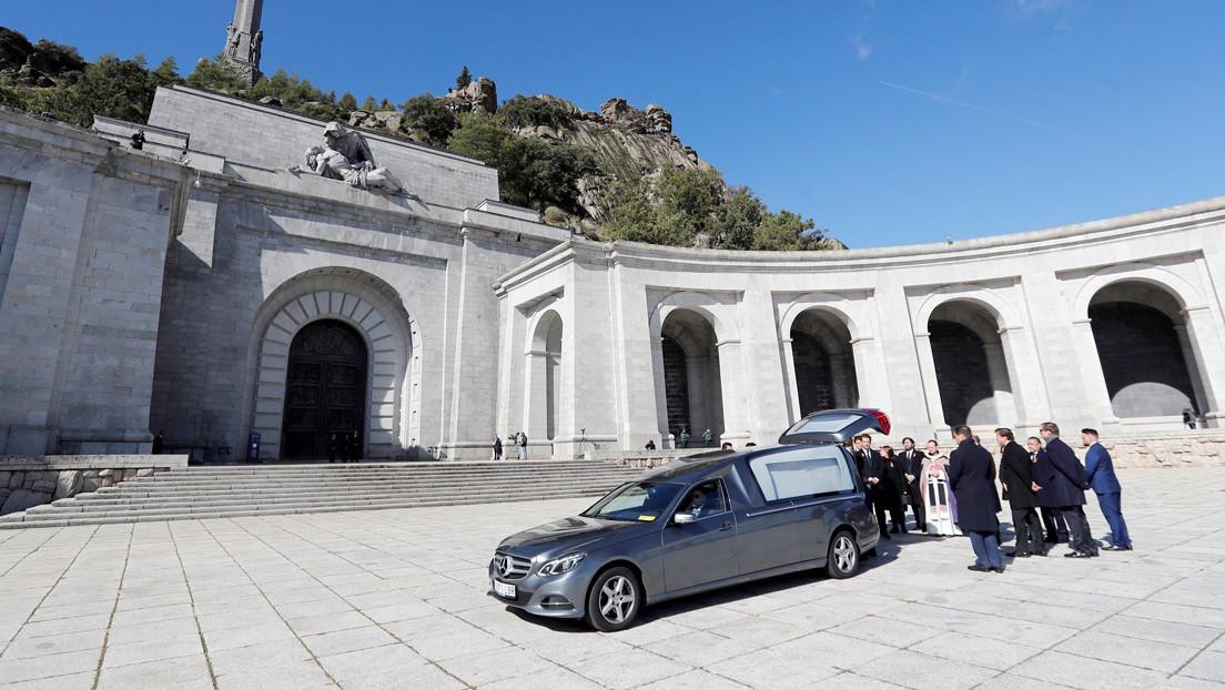 Los nietos de Franco denuncian a España ante el Tribunal Europeo de Derechos Humanos por su exhumación