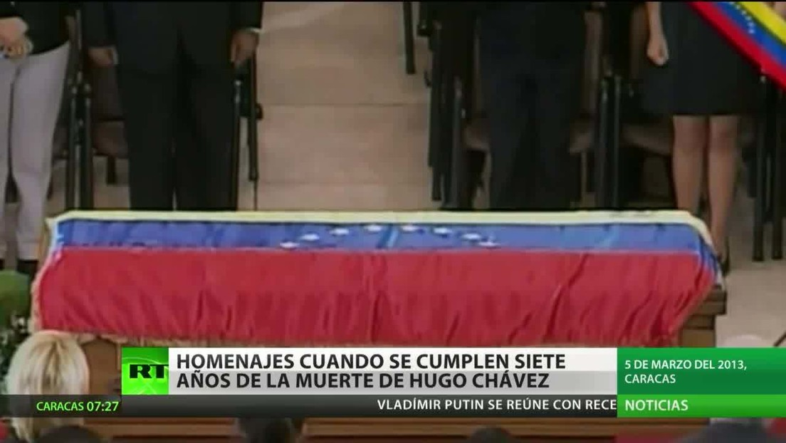 Venezuela conmemora siete años de la muerte de Hugo Chávez