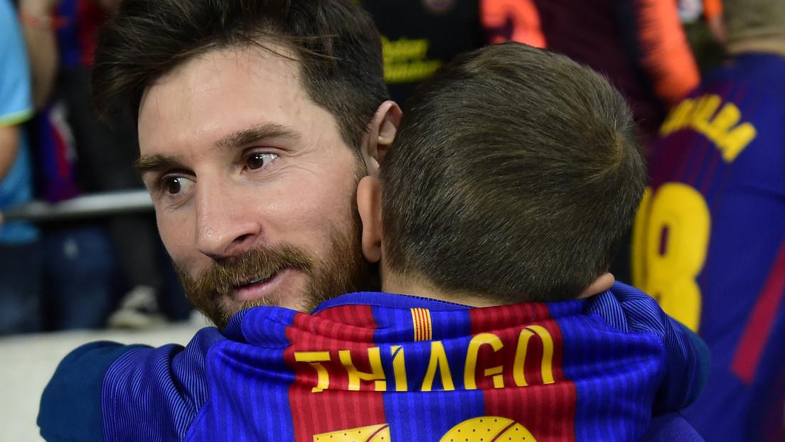 VIDEOS: Los hijos de Messi y Suárez ya brillan en las categorías inferiores del Barcelona