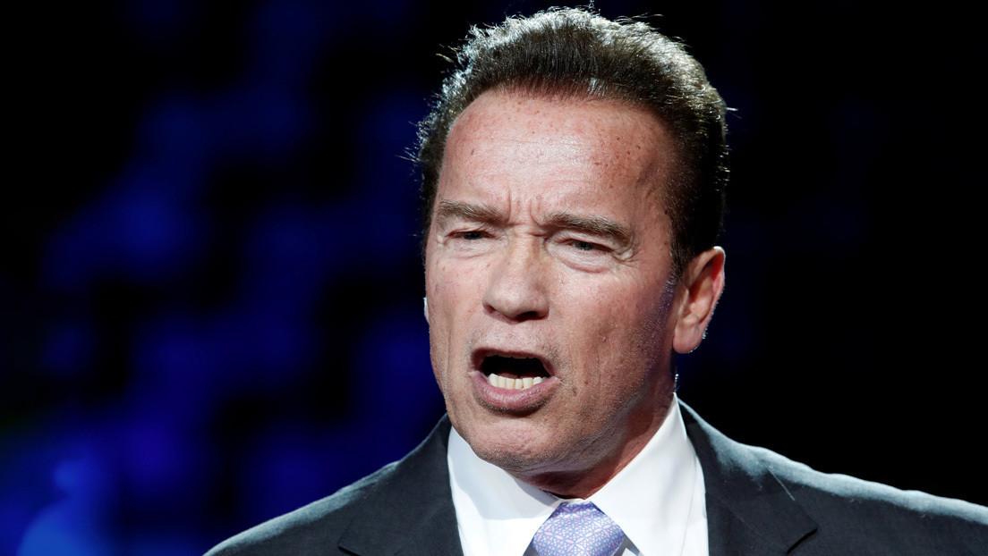 Disputa legal por un robot ruso con la cara de Arnold Schwarzenegger (VIDEO)