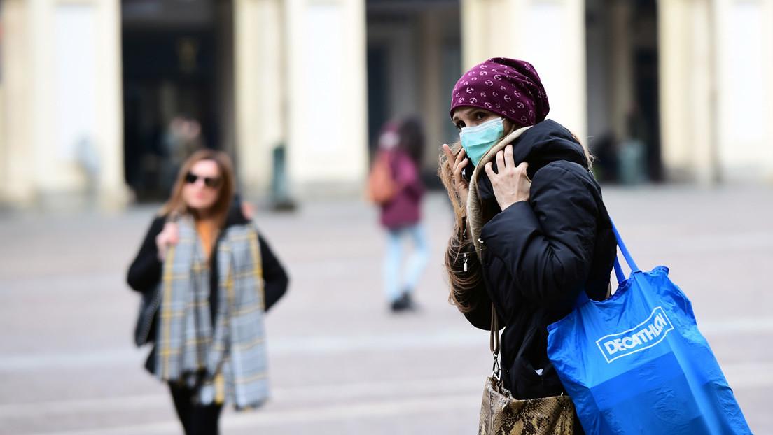 Italia confirma 41 nuevas muertes por el coronavirus en las últimas 24 horas