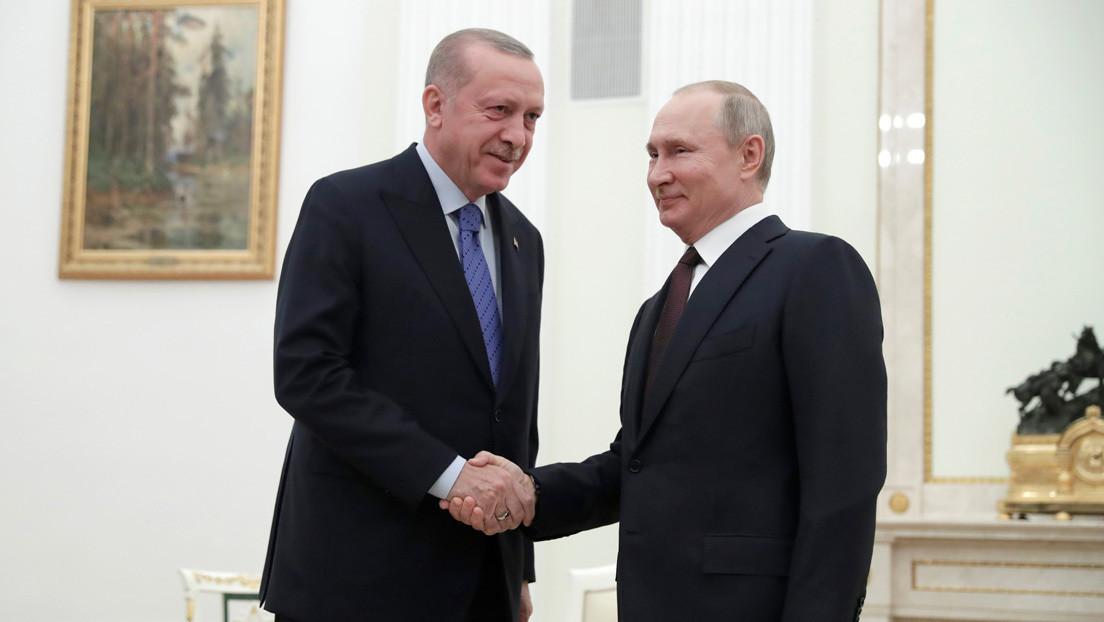 Alto el fuego, patrullas conjuntas y corredor de seguridad: Putin y Erdogan encuentran soluciones a la crisis en Idlib