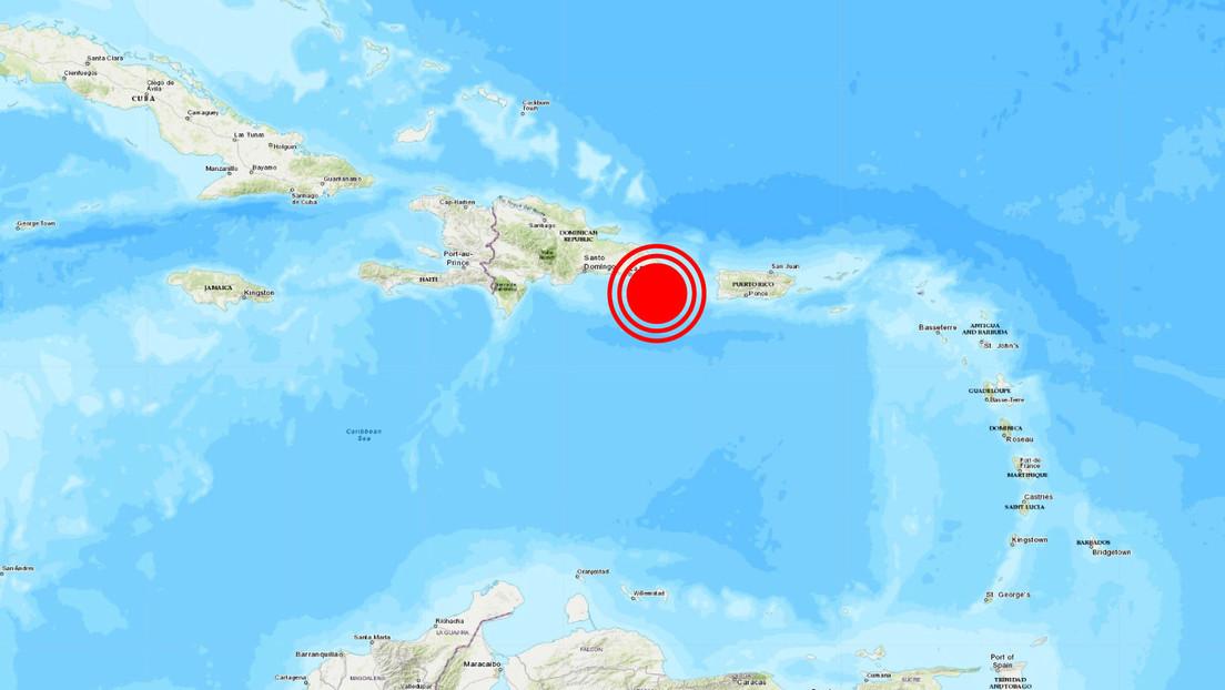 Un sismo de magnitud 4,8 se registra frente a las costas de República Dominicana