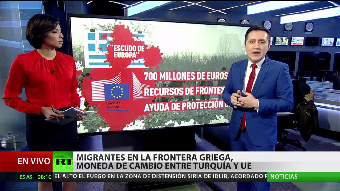 Migrantes en la frontera griega, moneda de cambio entre Turquía y la UE