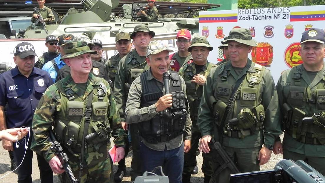 Ejército venezolano captura a 37 integrantes del grupo paramilitar colombiano Los Rastrojos durante la Operación Escudo Bolivariano