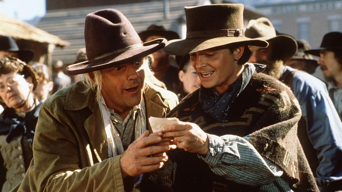 FOTOS: Marty McFly y Doc se reencuentran cara a cara a 35 años del estreno de 'Volver al futuro'
