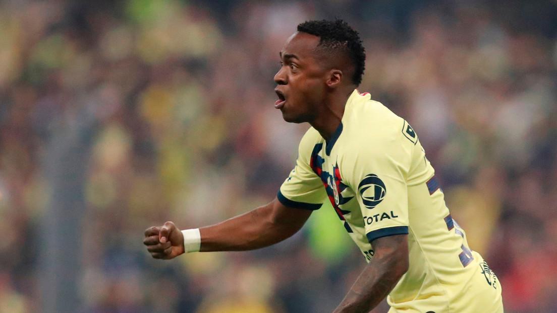 El jugador Renato Ibarra, del Club América, es detenido por golpear a su pareja embarazada