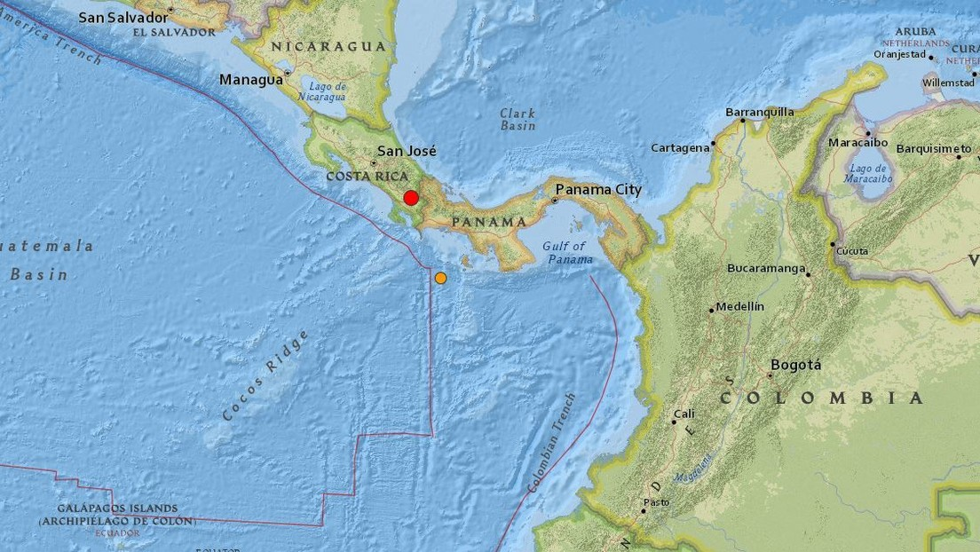 Un sismo de magnitud 5,2 sacude Costa Rica