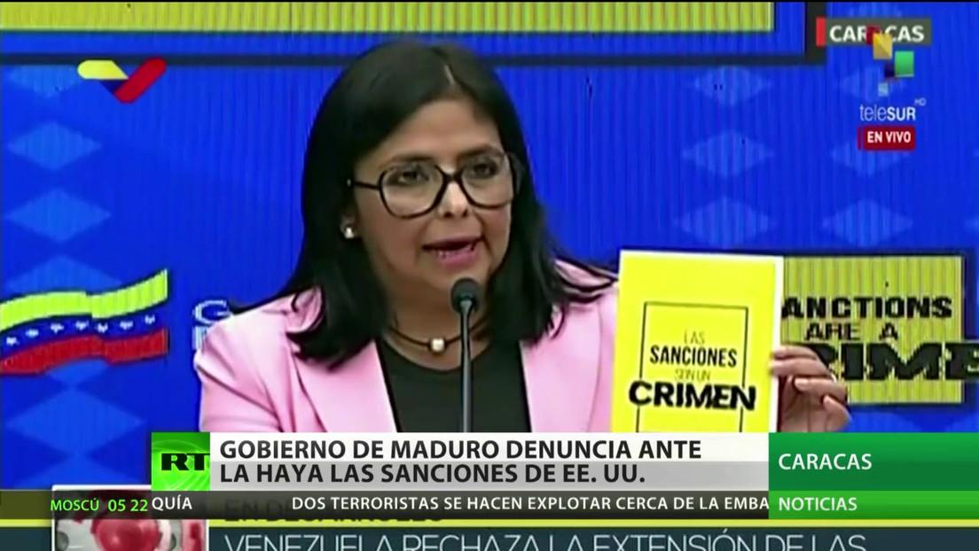 El Gobierno de Venezuela denuncia ante La Haya las sanciones de EE.UU.