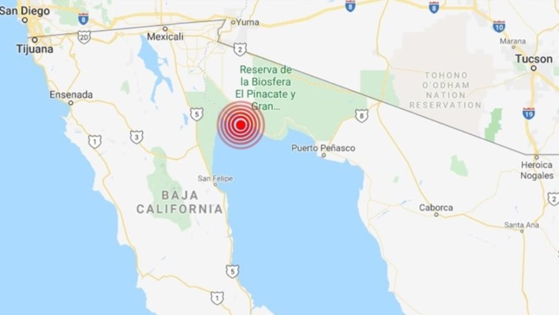 Un sismo de magnitud 5,6 se registra en México