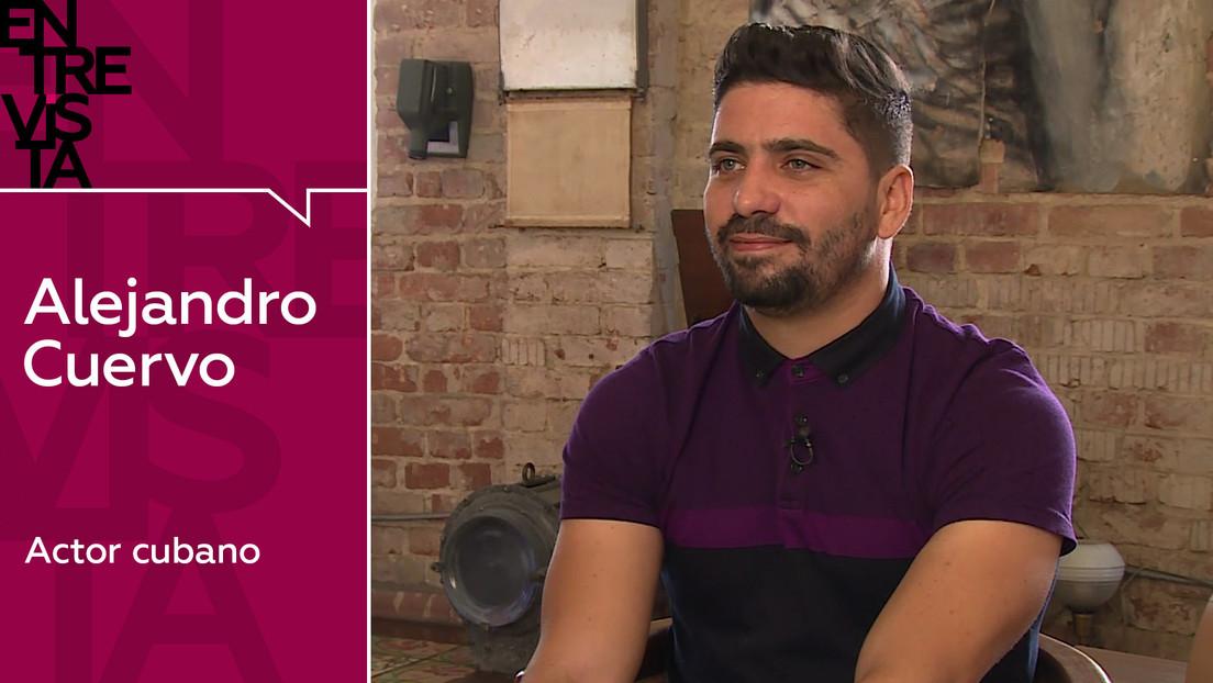 """Alejandro Cuervo, actor cubano: """"Hago televisión porque creo que es un arte, quizás de consumo, pero arte"""""""