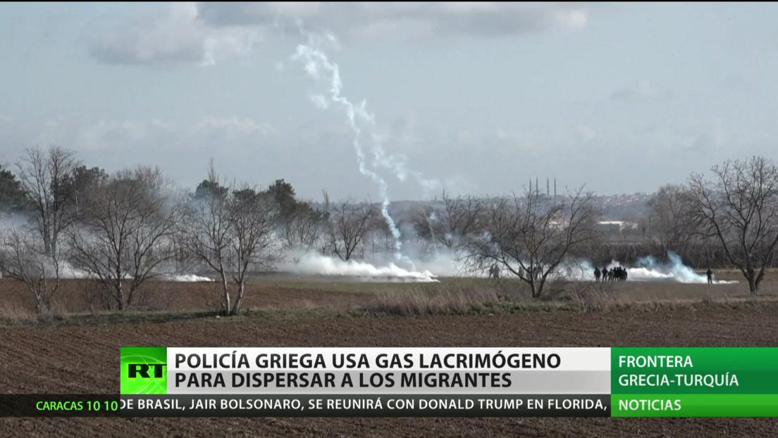 Migrantes denuncian la violencia de fuerzas griegas de seguridad