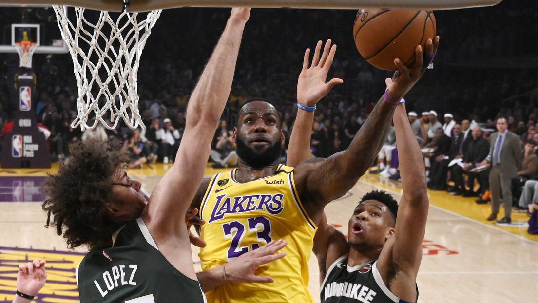 LeBron James no jugará los partidos que sean a puerta cerrada por el brote del coronavirus