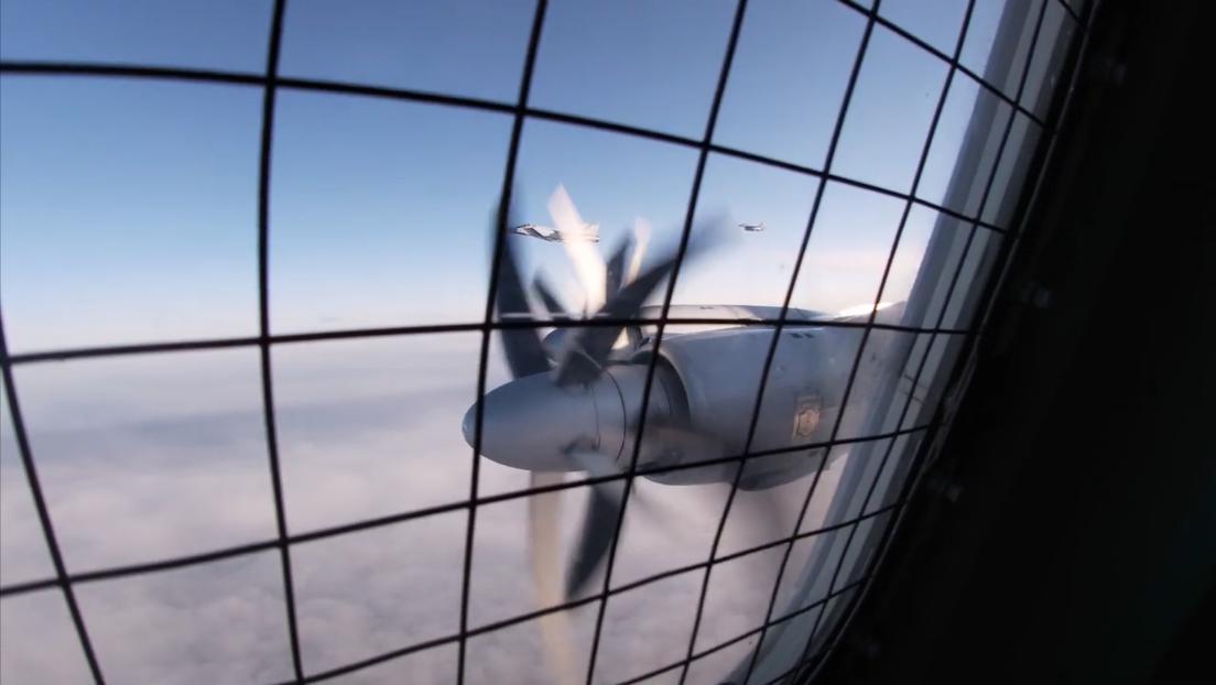 VIDEO: Aviones antisubmarinos rusos Tu-142 se entrenan sobre el océano Ártico y el Atlántico