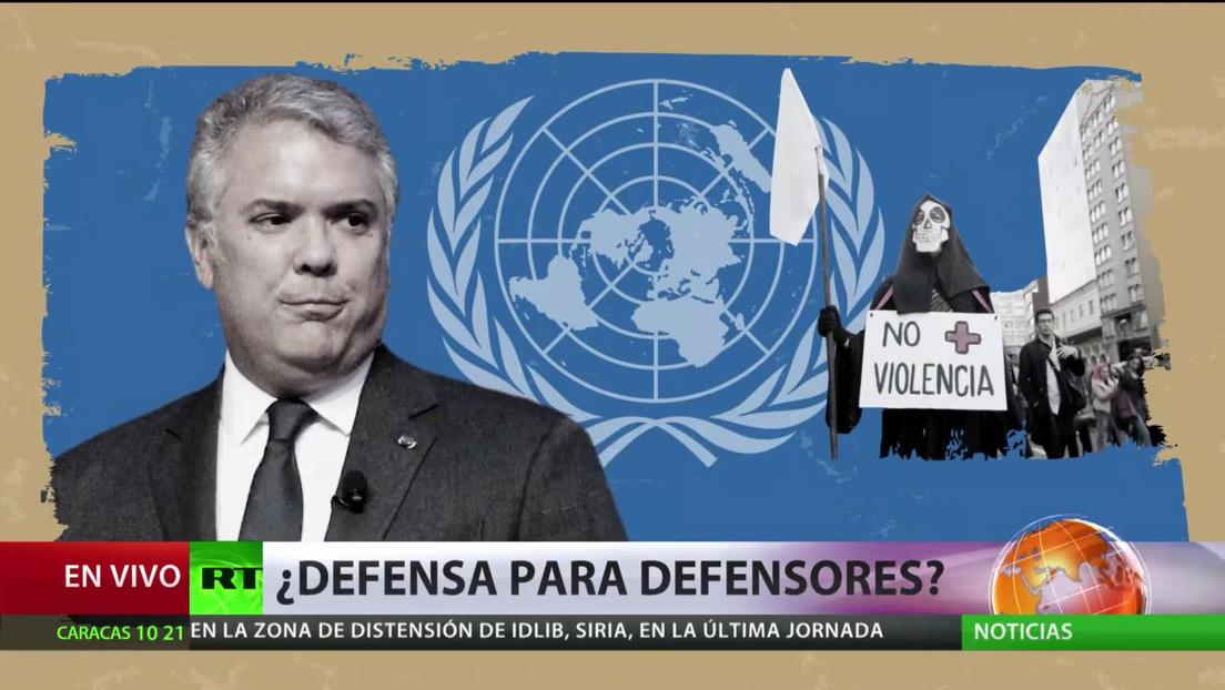 ONU: Colombia es el país donde más asesinan a los defensores de derechos humanos