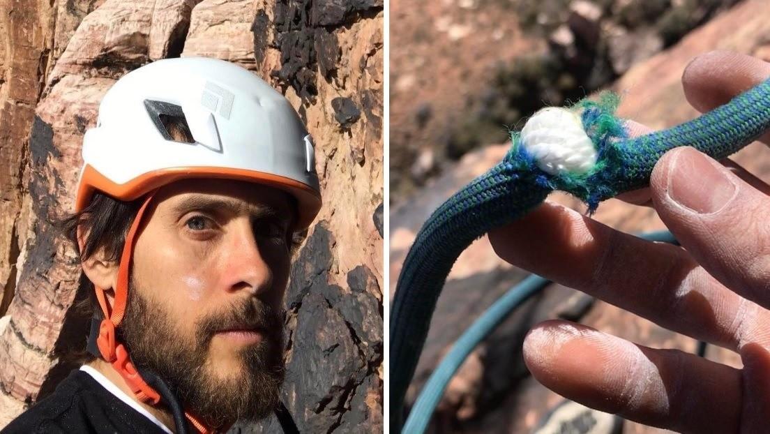 """""""Casi muero"""": el actor Jared Leto estuvo a punto de despeñarse por una montaña (FOTOS)"""