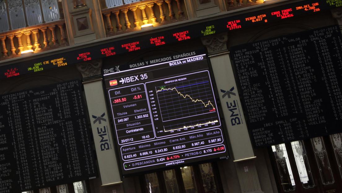 El Ibex 35 de Madrid cae un 7 % por el desplome del petróleo y el temor al coronavirus