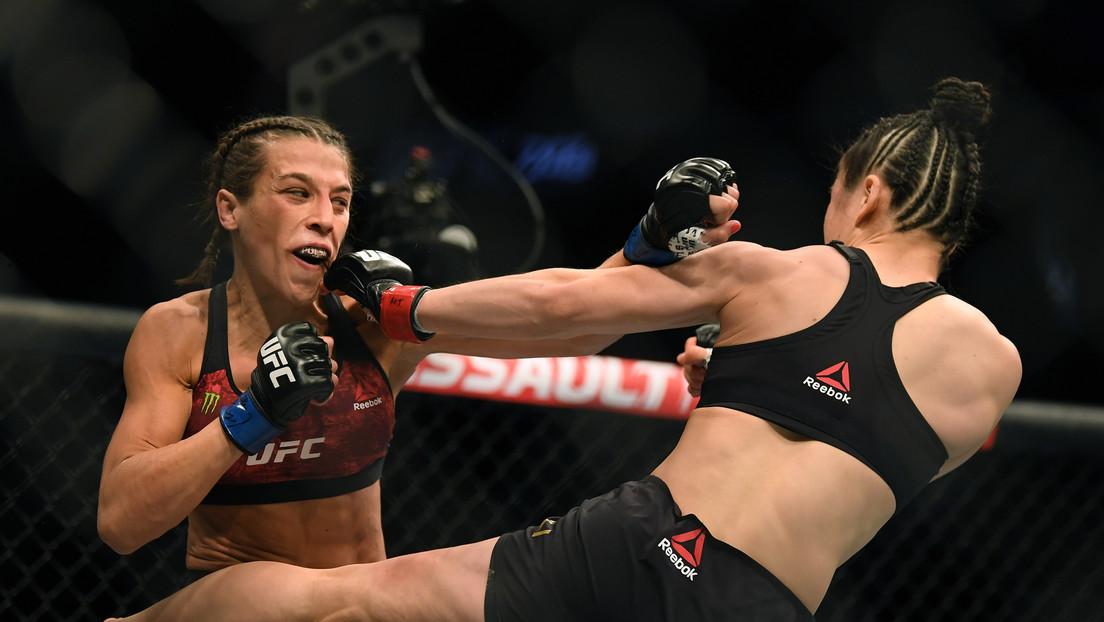 FOTO: El irreconocible y deformado rostro de la polaca que protagonizó una colosal pelea por el título de la UFC