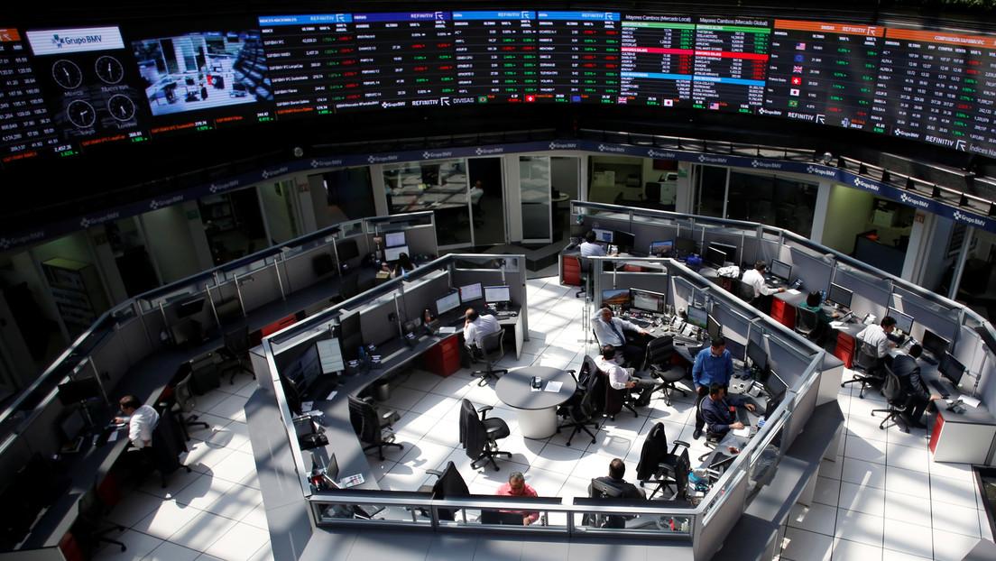 La Bolsa de México cae casi un 4 % en la apertura, alcanzando su mínimo desde octubre de 2019