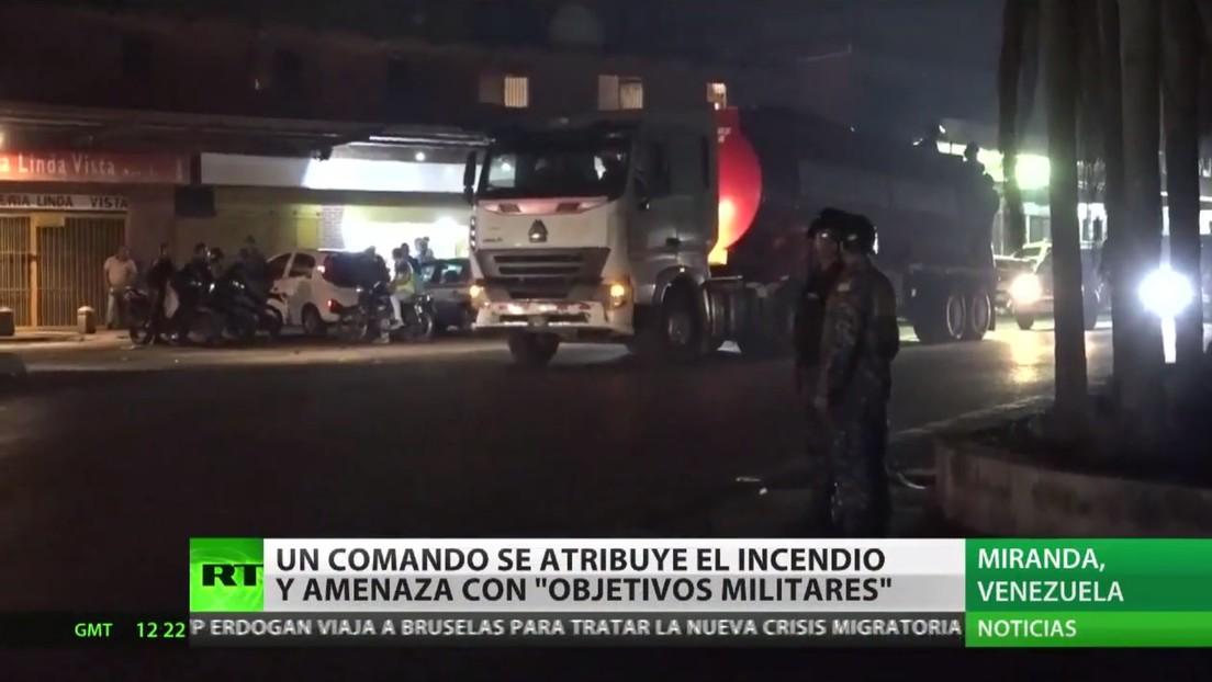Venezuela acusa a EE.UU. de estar tras el incendio de material electoral