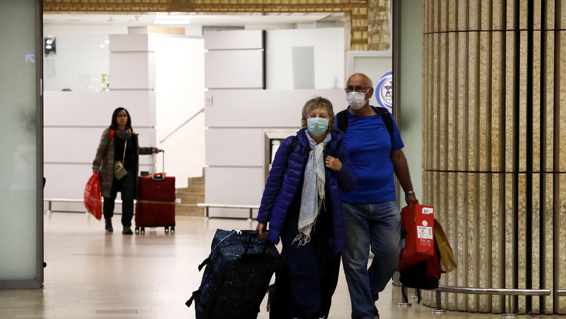 Israel anuncia una cuarentena domiciliaria de 14 días para las personas que llegan del extranjero