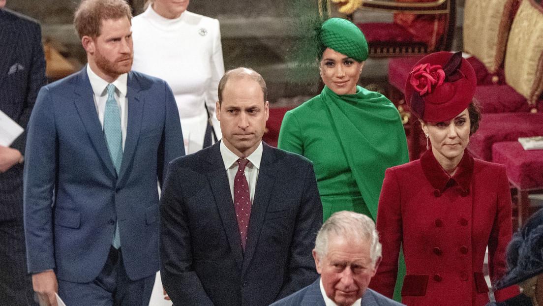 El príncipe Enrique y Meghan Markle hacen su última comparecencia oficial antes de renunciar a la realeza